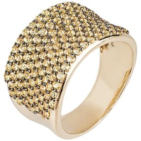 STAR Ring 585 Gelbgold Saphir