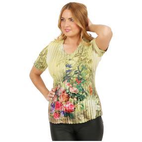Jeannie Plissee-Shirt 'Almeria' multicolor