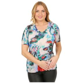 Jeannie Plissee-Shirt 'Toledo' multicolor