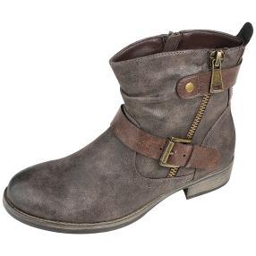 IDENTITY Damen-Boots braun
