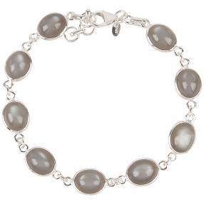 Armband 925 Sterling Silber Mondstein