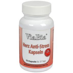 ViaBia Herz Anti-Stress Kapseln 75 Stück