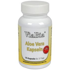 ViaBia Aloe Vera Kapseln 75 Stück