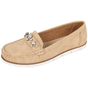 TOPWAY Damen-Slipper beige