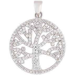 Anhänger 925 Sterling Silber Lebensbaum