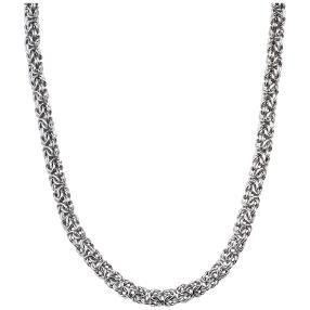 Königskette 925 Sterling Silber, ca. 46 cm
