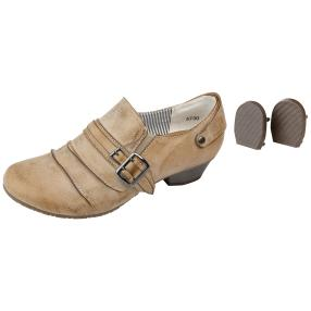SUPER IN Damen-Hochfrontpumps camel