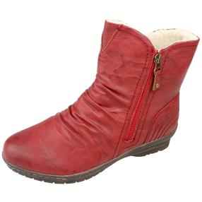 SUPER IN Stiefeletten rot