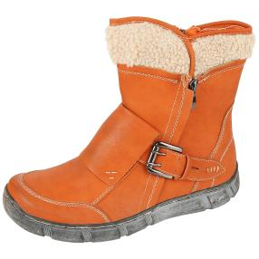 SUPER IN Damen-Stiefeletten orange