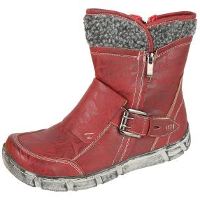 SUPER IN Stiefeletten weinrot