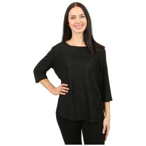 Damen-Spitzenshirt 'Ornella' schwarz