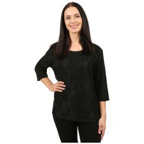 Damen-Spitzenshirt 'Eliana' schwarz