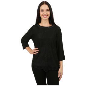 Damen-Spitzenshirt 'Celina' schwarz