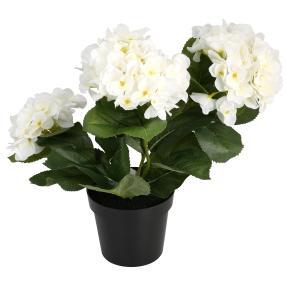 Hortensienbusch 32cm weiß