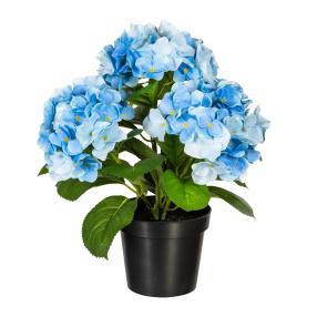 Hortensienbusch 32 cm, blau