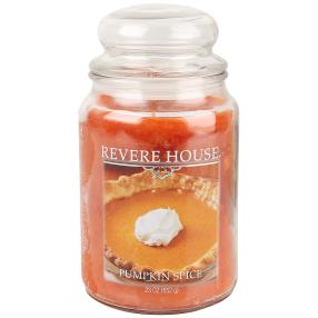 Revere House Duftkerze Pumpkin/Spice, orange