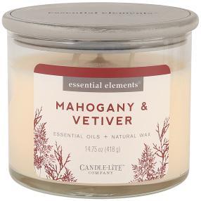 Candle-Lite Duftkerze Mahagony-Vetiver