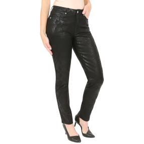 """Jet-Line Damen-Jeans """"Trend Design"""" black/black"""