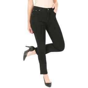 Jet-Line Damen-Jeans 'Perfect Black' black