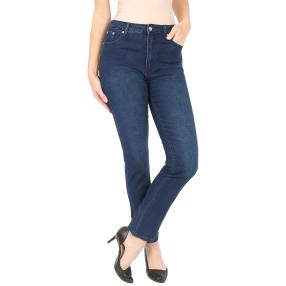 Jet-Line Damen-Jeans 'True Blue' dark blue