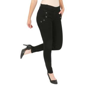 "Jet-Line Damen-Jeggings ""Relax"" black"