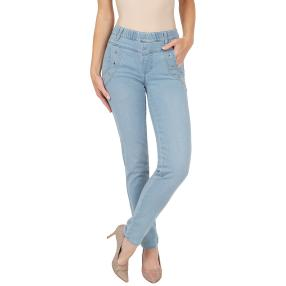 "Jet-Line Damen-Jeggings ""Relax"" light blue washed"