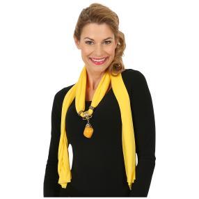 Lilli B. Schmuckschal Gemstone gelb
