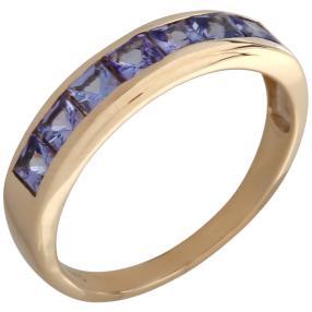 Ring 375 Gelbgold AATansanit