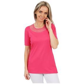RÖSSLER SELECTION Damen-Shirt uni pink