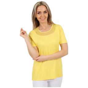 RÖSSLER SELECTION Damen-Shirt uni zitrone