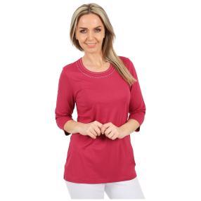 RÖSSLER SELECTION Damen-Shirt uni rot
