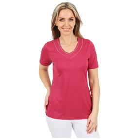 RÖSSLER SELECTION Damen-Shirt uni rot