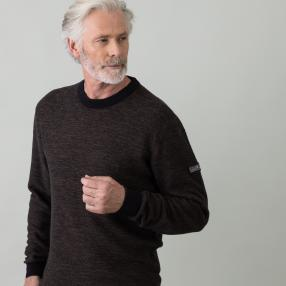 SPROX Herren-Slipper schwarz wide fit Soft Touch
