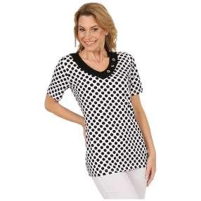 RÖSSLER SELECTION Damen-Shirt schwarz/weiß
