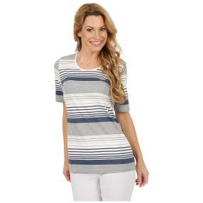 RÖSSLER SELECTION Damen-Shirt gestreift multicolor