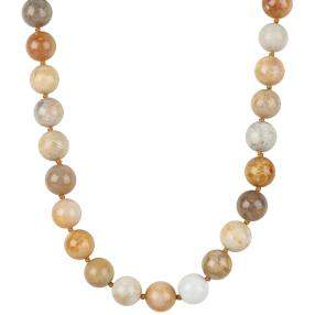 Collier Fossile Koralle 13 mm