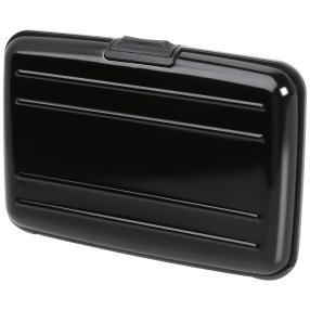 Kartenetui WALLET schwarz Aluminium