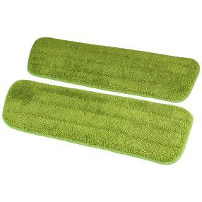 Spraymop Ersatztücher 2er Set grün