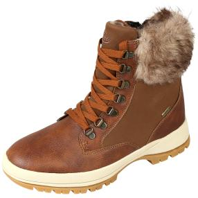 LICO COMFORTEX-Boots Inari cognac wasserabweisend