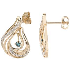 Ohrstecker 585 Gelbgold Diamant