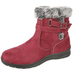 NORWAY ORIGINALS Damen-Boots burgundy