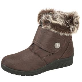 NORWAY ORIGINALS Damen-Boots dunkelbraun