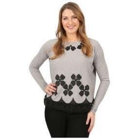 Damen-Pullover 'Tosca' grau