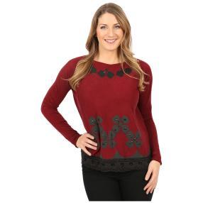Damen-Pullover 'Tosca' bordeaux