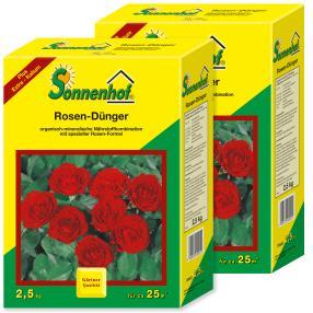 Rosendünger, 2,5 Kg, 2 er Paket