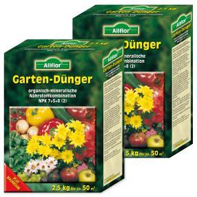 Gartendünger, 2,5 Kg, 2er Paket