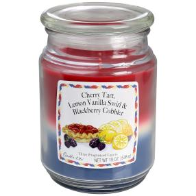 Candle-lite 3-Layer Duftkerze 538g Lemon Cherry