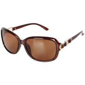 Sonnenbrille braun polarisiert