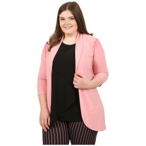 CANDY CURVES Cardigan flamingo
