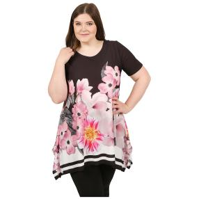 CANDY CURVES Longshirt multicolor